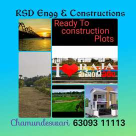 DTCP approved plots like ready to construction and investment purpose