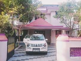 Upstairs apartment for rent in Thrissur