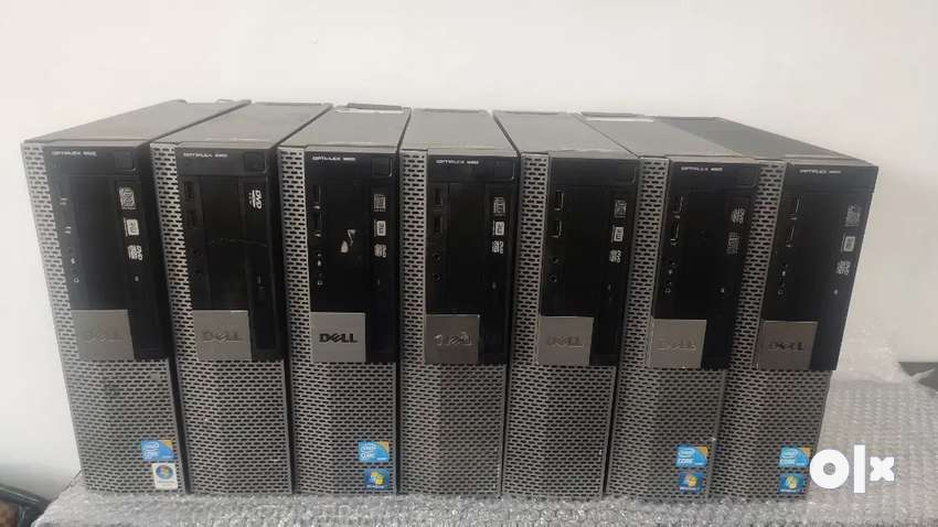 Dell silm cpu i3 4gbram 250gbhdd with warranty and bill 0