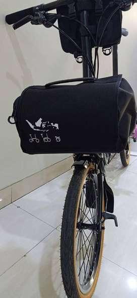 Tas Brompton Front Bag Tas Sepeda Lipat Fnhon Dahon Trifold ID93