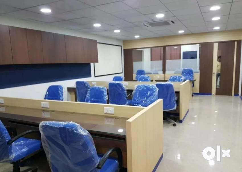 Furnished office with cabin and conference 0