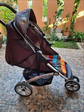 Stroller pliko (bonus alas strollernya)