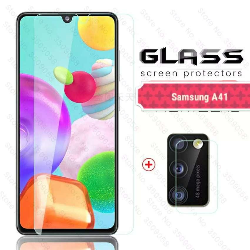 Ultra Tempered Glass ASLI KACA Samsung A41 Dan Type Lain 0