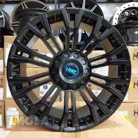 Velg mobil racing murah import ring 20 HSR wheel myth02 Hitam pajero