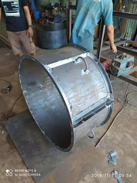 Cetakan Buis beton ready u80*50 siap kirim plat tebal