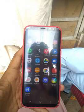 samsung s8+  onely moublie