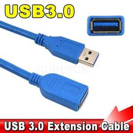 KABEL USB EXTENSION 3.0 Kabel Usb Male to Female 3.0 1,5M high quality