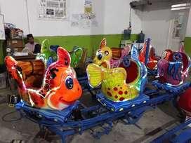 kereta rell panggung odong odong Ikan Nemi