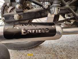 K indori silencer neemuch for royal Enfield.