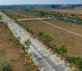 Clear-HMDA Open plots for sale Near Thimmapur, immedite registration