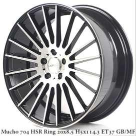 velg MUCHO 704 HSR R20X85 H5X114,3 ET37 GBMF