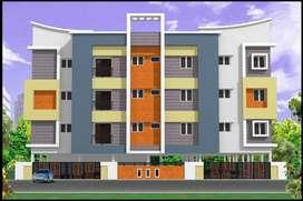 NEW CONSTRUCTION 2 BHK APARTMENT FOR RENT IN SAMUNDIPURAM
