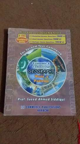 Commercial Geography for 2nd year Commerce