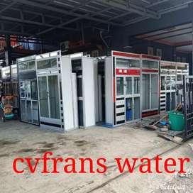 Pemasangan rapi dan bergransi isi ulang air munum
