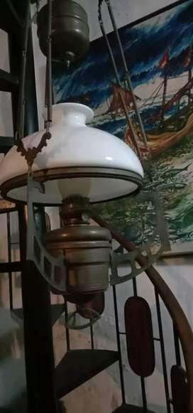 Lampu antik jadul klasik kuno