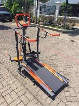 TL-003AG Manual Treadmill 3 Fungsi Fitness Olahraga