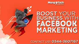 Facebook Advertising Social Media Marketing Company in Karachi