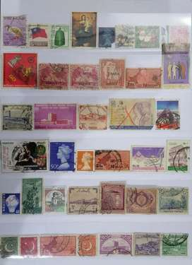 475+ Unique Used International Stamps