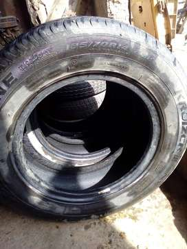 Set of X corolla tyre(3 tyre) available for sale on cheap price.