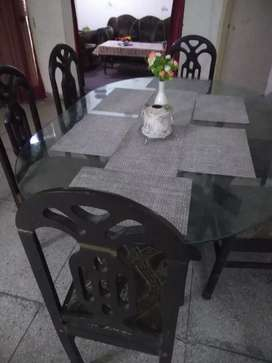 Dinning Table with sofa