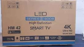 42 inch smart led TV full HD video Samsung panle