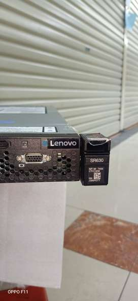 Server Lenovo 1U SR630 proc GOLD 5115 Dobel ram 96gb ddr4 SSD 1TB 2nd
