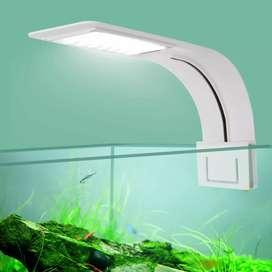 Virgo Lampu Aquarium LED Light Super Slim Clip On 10W 5730K - X5
