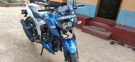 Two  wheeler Apache good condition all good