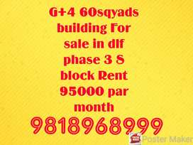 1bhk 5 floor furnished building for sale in gurgaon at dlf phase 3