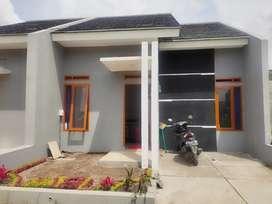 Rumah konsep Villa + isi dengan suasana asri.