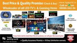All Size Led Tvs Smart/NonSmart/4K Uhd &Gaming Item(Best Deal Promise)