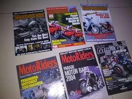 Sisipan majalah motoriders tahun 2000an