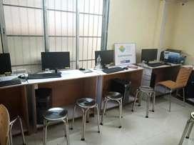 Free computer, english speaking course, free guranteed job