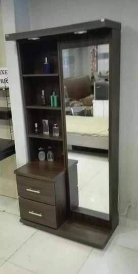 New stylish dressing tables with sliding mirror best quality