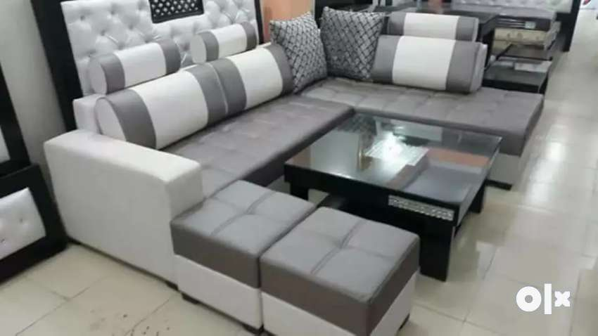 Dinond L shape sofa 0