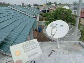 Parabola 58 channel lokal dan internasional