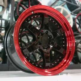 VELG ROTIFORM,17X7,5/8,5,H8X100/114,3:ETIOS,SWIFT,VIOS,BALENO,JAZZ,