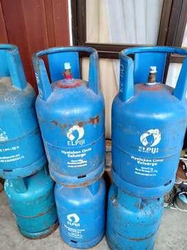 Tabung Gas Elpiji 12 kg  + Isi Full.