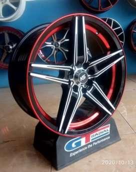 KS STAR velg murah ring 17 bisa untuk mobil fiesta Avanza Vios Altis