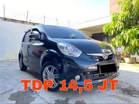 Daihatsu Sirion Matic 2014 Type D 1.3 Hitam Super Mulus | KM 75RB