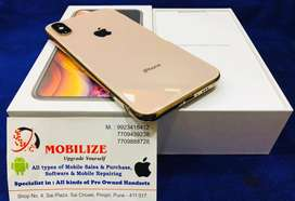 iPhone XS Gold 64GB Under Warranty till Sep - 2020