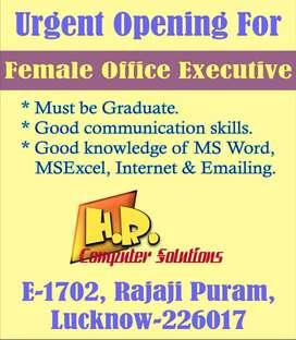 Female Office Executive