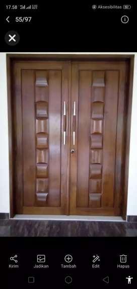 pintu jati dan kusen jati