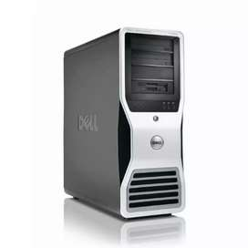 Dell T7500 GDDR3 Xeon Dual Processors Best for Gaming, Designing
