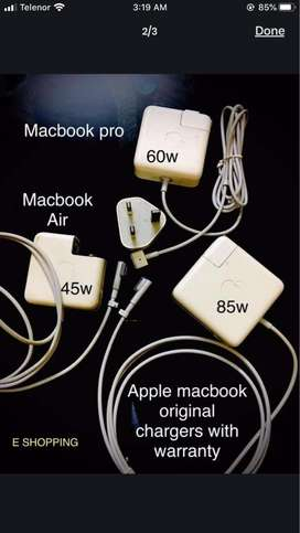 Apple macbook pro/air chargers