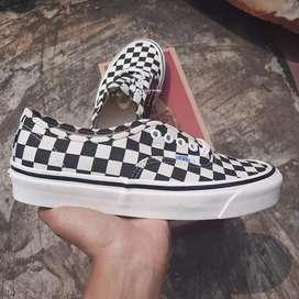 Vans authentic DX checkerboard