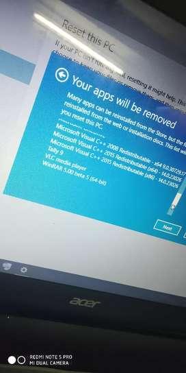 All Windows software problem