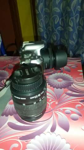Canon 1300d with kit lens