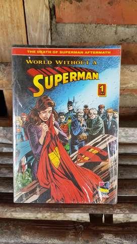 Jual Komik Superman (World Without a Superman) Volume 1-4