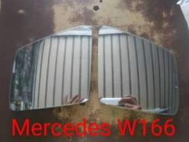 Mercedes W166 Side Mirror Glass Pair